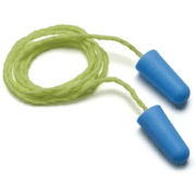 Pyramex Hearing Protection Corded Metal Detectable Disposable Earplugs -