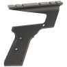Aimtech Charcoal Black Mount For Browning Buckmark & Challenger II APM10