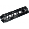 Leapers UTG Model 4/15 Mid Rifle Length Quad Rail System - Black MTU007