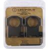 Leupold Mark 4 Mounting Rings - Super High / High / Medium, Matte Black