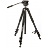 Zeiss Aluminum Tripod, Video Head, and Carrying Strap